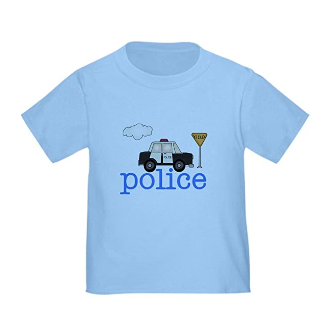 Amazon.com: CafePress – Coche de policía – Cute bebé T-Shirt ...