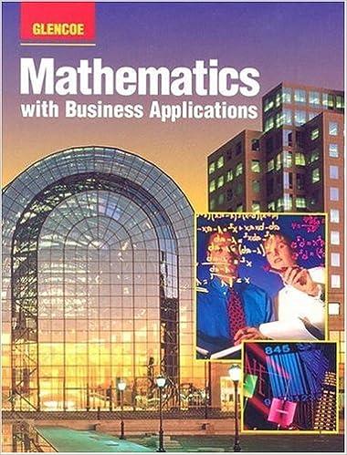 business math glencoe