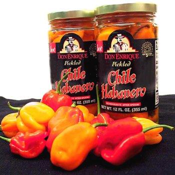 (Melissa's Pickled Habanero Peppers, 3 Jars (12 fl oz))