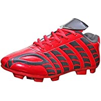 ARYANS Women's Aster Red Balck Pure Later Football Stud