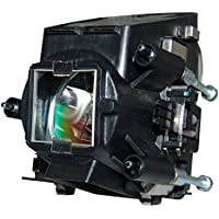 AuraBeam Professional ProjectionDesign 400-0402-00 Projector Replacement Lamp with Housing (Powered by Philips)