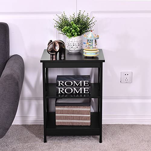 mens office decorating ideas.htm amazon com nightstand end table storage display 3 tier shelf  end table storage display 3 tier shelf