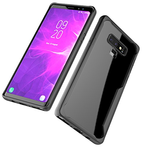 Happon Samsung Galaxy Note 9 Case, Cover Defender Cover Case Defender Cover Case Back Cover Protective Case with Defender Cover Case for Samsung Galaxy Note 9 (Black)