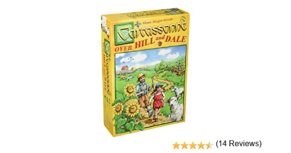 Z-Man Games Carcassonne: Over Hill and Dale: Amazon.es: Juguetes y juegos