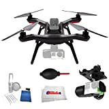 3DR Solo Quadcopter with 3-Axis Gimbal for GoPro HERO3+ / HERO4 Bundle comes with 5 Piece Cleaning Kit + Dust Blower & Microfiber Cleaning Cloth