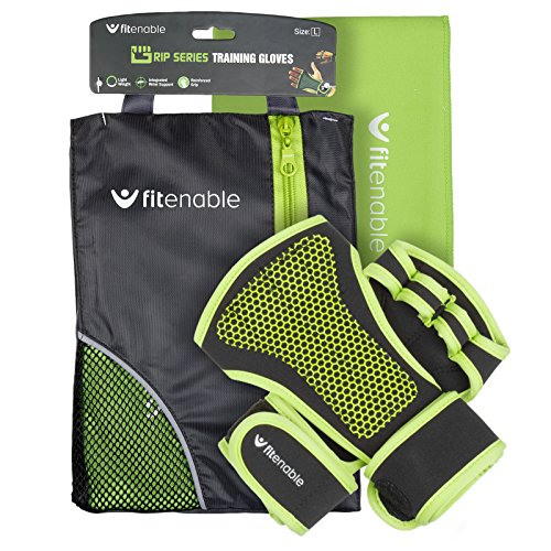 Fitenable grip series training gloves (Medium)