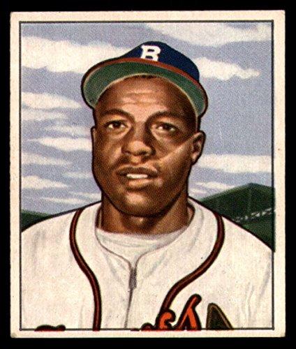 1950 Bowman #248 Sam Jethroe Bos Braves MLB Baseball Card (RC - Rookie Card) G Good