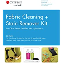 Clek Fabric Cleaning Plus Stain Remover Kit (for Child Seats, Strollers and Gear)