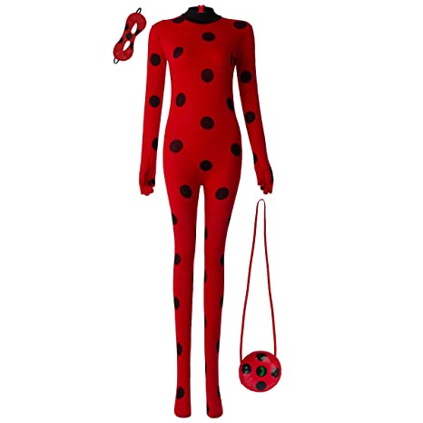 FYMNSI Disfraz de mariquita, para adulto, para Halloween, fiesta ...