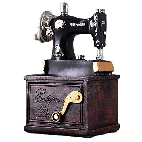 TRES Máquina de coser de resina vintage Soporte para bolígrafo ...