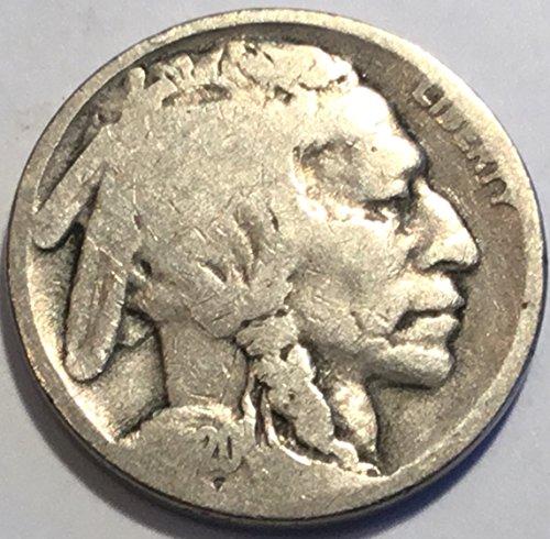 1920 Buffalo Nickel Good Detials