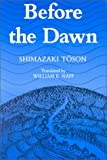 Before the Dawn, Shimazaki Toson, 082481164X