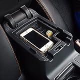 etopmia Popular Center Console Armrest Storage Box Organizer with Non-Slip Mat for Subaru XV 2012 2013 2014 2015 2016 / Crosstrek 2012-2017