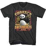 American Classics Kung Fu Panda T Shirt Embrace Awesomeness Adult Short Sleeve