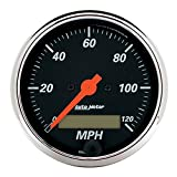 Auto Meter 1487 Designer Black Electric Programmable Speedometer