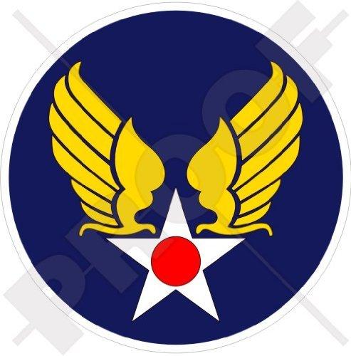 - United States USAAF Emblem, USAF American, US Army AirForce WWII 3,2