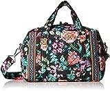 Vera Bradley Iconic 100 Handbag, Signature Cotton, Vines Floral