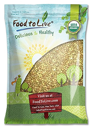 Food to Live Granos de Trigo Sarraceno o Alforfon Bio (Eco, Ecológico, crudo, sin OMG, Kosher) 2.3 Kg: Amazon.es: Alimentación y bebidas
