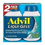 Advil Liqui-Gels (240 Count) Pain Reliever/Fever