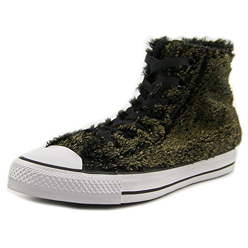 7 Converse Sneakers All Chuck Metallic Women Faux Taylor US Fur Star gq6pg
