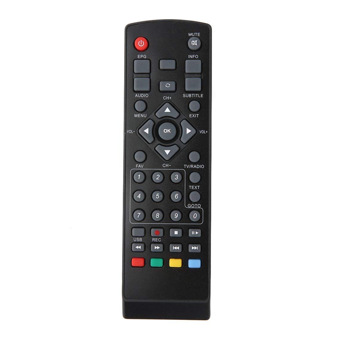 MIXIUSIXIU High Definition Digital Video Broadcasting Terrestrischer Receiver DVB-T2 Schwarz