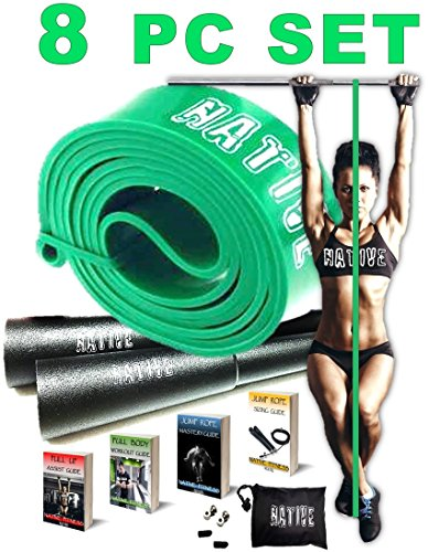 pull-up-assist-resistance-bands-10-pc-fitness-training-workout-set-bonus-speed-jump-rope-home-gym-ex