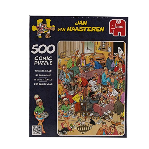 Jan Van Haasteren The Chess Club Puzzle (500 Pieces)