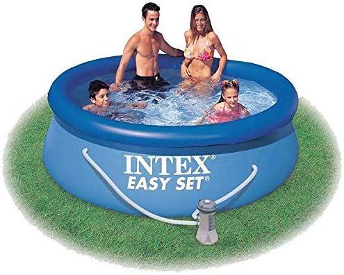 Intex Easy Set 28112 Piscina de 244 x 76 cm con bomba filtro + cartucho: Amazon.es: Jardín