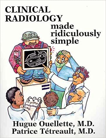 Kết quả hình ảnh cho Clinical Radiology Made Ridiculously Simple – 1st edition
