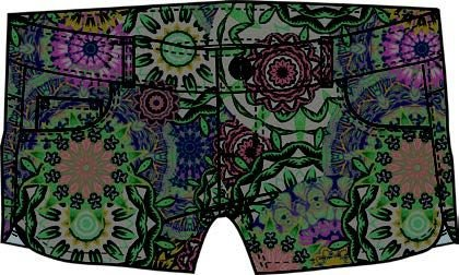 Hurley Dri-Fit Beachrider Printed 5pkt Short, Color: 00au, Size: 28