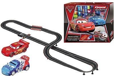 Carrera Go Disney Cars 2 - Tokyo Action Race Set by Carrera