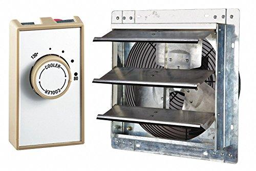 Attic Ventilator,Gable Mount,115V,16'' by Dayton