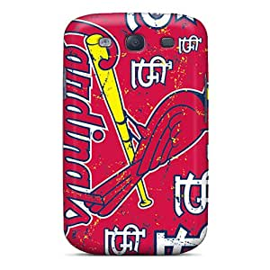 Excellent Hard Phone Covers For Samsung Galaxy S3 (rwY9531IWPb) Custom HD St. Louis Cardinals Skin