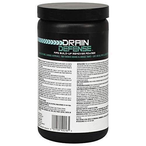 Zep Drain Defense Enzymatic Drain Cleaner Powder 18 ounces ZDC16 (Case of 12) by Zep (Image #3)