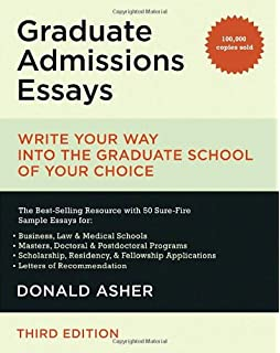 com graduate admissions essays fourth edition write your  graduate admissions essays write your way into the graduate school of your choice