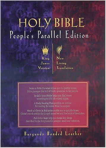 People's Parallel Edition KJV/NLT: Tyndale: 9780842332231