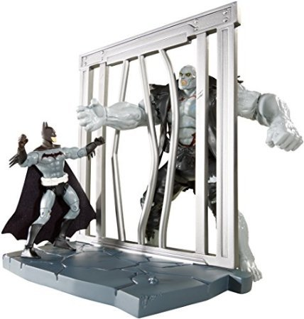 DC Comics Multiverse 4-Inch Year One Skin Batman and Solomon Grundy Figure 2-Pack