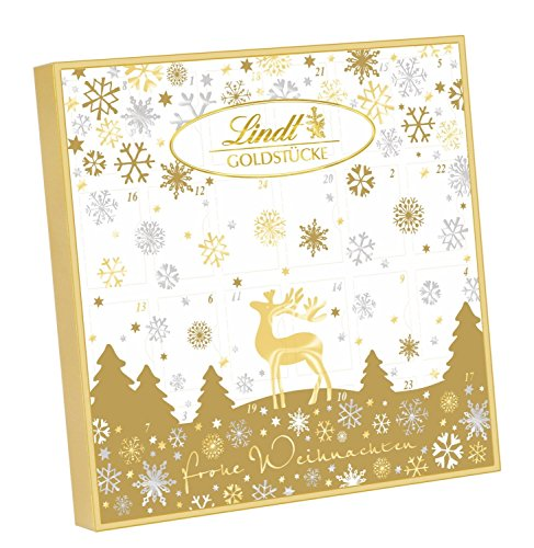 Lindt Gold Pieces Advent Calendar 2017 156g