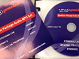 Kaplan PMBR MBE Premium Package Audio MP3 CD SET