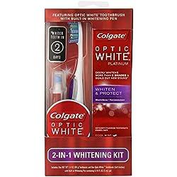 Colgate Optic White 2-in-1 Teeth Whitening Kit