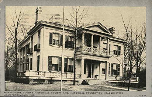 - Montgomery County Historical Society and Historical Foundation Headquarters Original Vintage Postcard