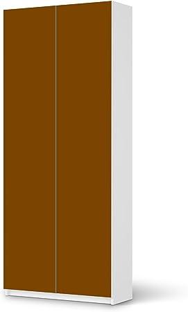 Creatisto Ikea Pax Armoire De 225 Cm De Hauteur 2 Portes 1 Design Marron Veritable Objet Decoratif Lumineux Amazon Fr Cuisine Maison