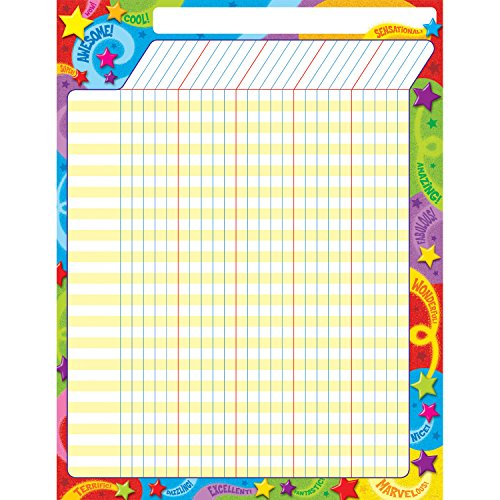TREND enterprises, Inc. Praise Words 'n Stars Incentive Chart, 17
