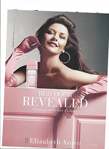 **PRINT AD** With Catherine Zeta Jones For Elizabeth Arden Red Door Revealed **PRINT AD** (Red Door Revealed compare prices)