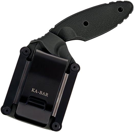 KA-BAR 1481 TDI Law Enforcement Serrated Edge Knife,Small,Black