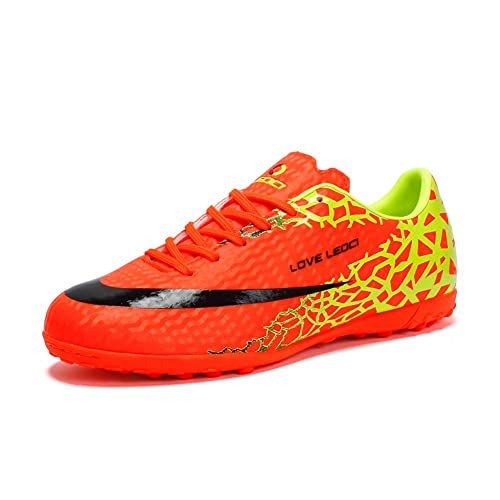 Amazon.com: LEOCI Zapatillas de fútbol para hombre para ...