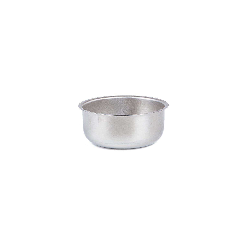 Medegen Medical Products 87410 Wash Basins Solution/Sponge, 1 quart Capacity, 6-1/8'' × 2-1/2'', Stainless Steel