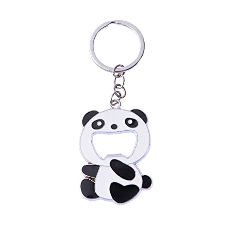 Toyvian Llavero Panda con Abrebotellas para Coche y Bolso ...
