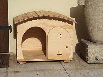 Blitzen, cucha tipo casa, modelo GinaBig para el aire libre, para gatos de gran tamaño y perros pequeños, termorregulada: Amazon.es: Jardín