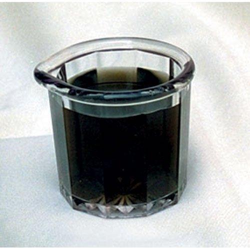 G.E.T. Enterprises SP-2000-CL Syrup Pitcher - Clear Plastic, 2 oz. Capacity